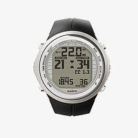 Спортивные часы Suunto DX силиконовый ремешок, цвет серебристый