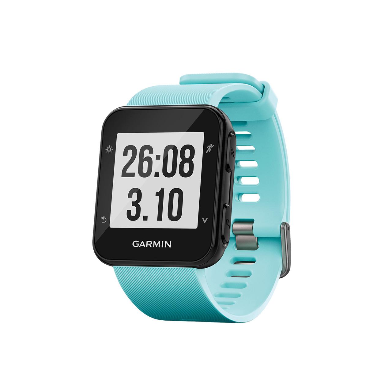 Спортивные часы Garmin Forerunner 35 Light Blue, цвет черный