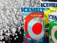 Противогололедный реагент ICEMELT (Айсмелт) до -31градусов