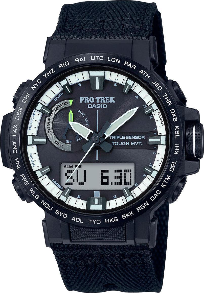 Спортивные часы Casio PRW-60YBM-1AER, цвет черный