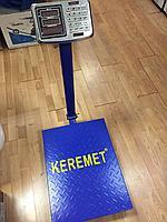 Товарные весы 400кг, торговые весы напольные электронные, платформа 60х45см