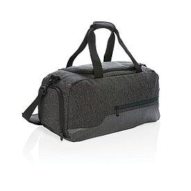 Спортивная сумка, темно-серая