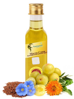 """Натуральное масло для тела """"Слим"""" Сангам Хербалс 100,0 антицеллюлитное"""