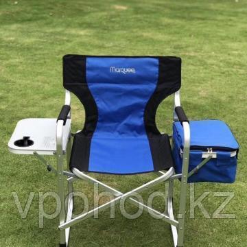 Кресло туристическое со столиком и сумкой холодильником