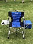 Кресло туристическое со столиком и сумкой холодильником, фото 2