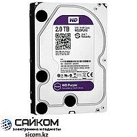 Жесткий диск WD Purple 2 TB PURX, Объем 1000 ГБ, 7200 об/мин