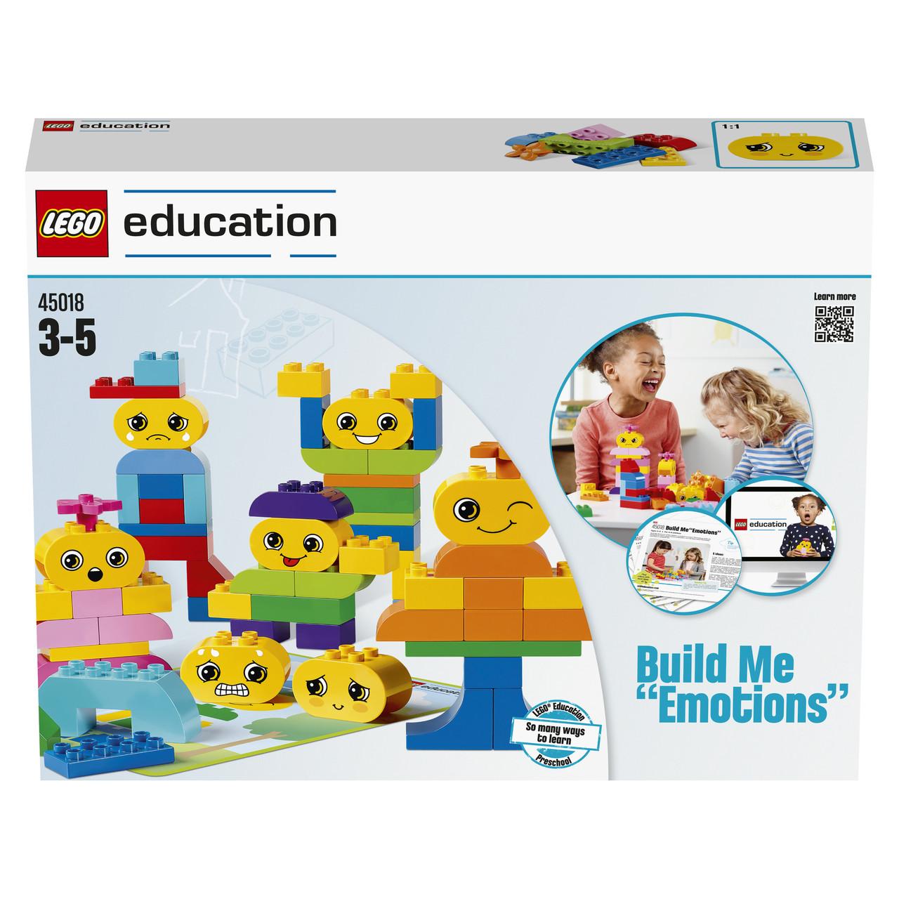 Лего эмоциональное развитие ребенка