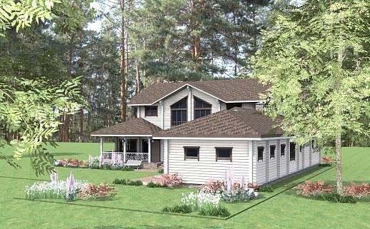 Проект дома №3333