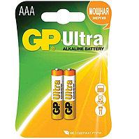 Батарейки щелочные GP Ultra AAA/LR03, 2шт