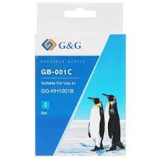 GA-001BK струйный пигментный черный картридж  42 ml
