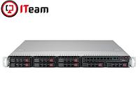 Сервер Supermicro 1U/Xeon E-2146G 3,5GHz/32Gb/2xSSD 480GB/2x600w, фото 1