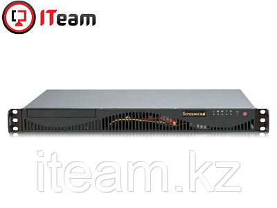 Сервер Supermicro 1U/Xeon E-2224G 3,5GHz/16Gb/2x1Tb SATA/350w