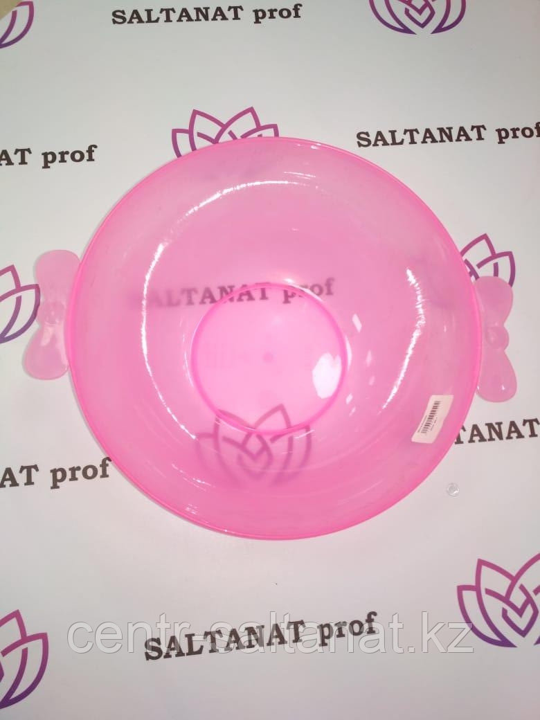 Миска для разведения маски розовая