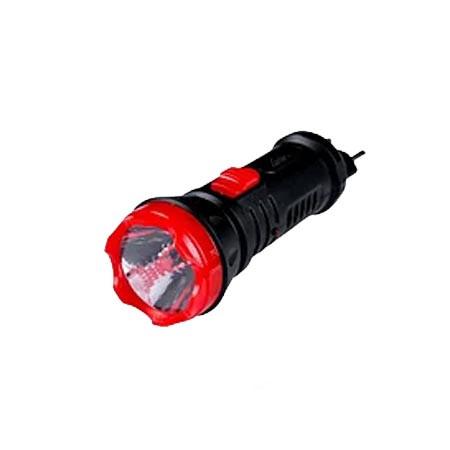 Перезаряжаемый фонарик красный