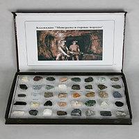 Коллекция Минералы и горные породы 40 видов