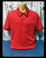 """Футболка для сублимации """"Поло"""" 52 (XL) """"Unisex"""" цвет: красный"""