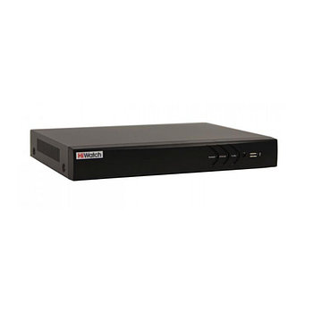 IP видеорегистратор HiWatch DS-N204P(B), 4-канальный