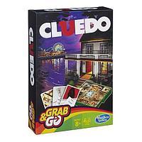 HASBRO GAMES Игрушка игра Клуэдо. Дорожная версия. -