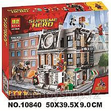 Конструктор аналог Лего Bela 10840 Решающий бой в Санктум Санкторум (аналог Лего lego Super Heroes 76108)