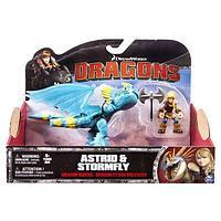 DRAGONS Игрушка Dragons Дракон и всадник (в ассорт) -