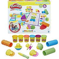 """Hasbro Hasbro Play-Doh игровой набор """"Текстуры и инструменты"""" -"""