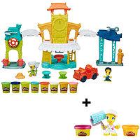 "Hasbro Hasbro Play-Doh игровой набор ""Главная улица"" + Фигурки -"