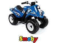 Smoby (Франция) Квадроцикл аккумуляторный, голубой 82,4*45,3*54,7 см -