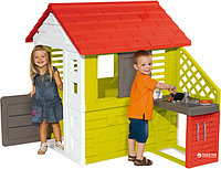 Smoby (Франция) Игровой домик с кухней, 145*110*127см -