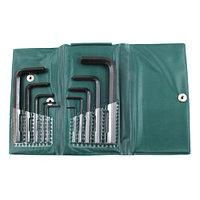 Набор ключей Шестигранных из 10шт (1,5 2 2,5 3 4 5 5,5 6 8 10мм) в пласт. упаковке СrV (2418)