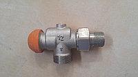 """Термостатический угловой клапан TS-90E 1/2"""" AG HERTZ"""