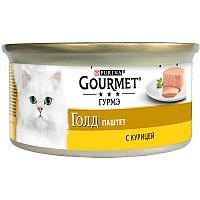 Корм Gourmet Gold для кошек (Курица) - 85 г