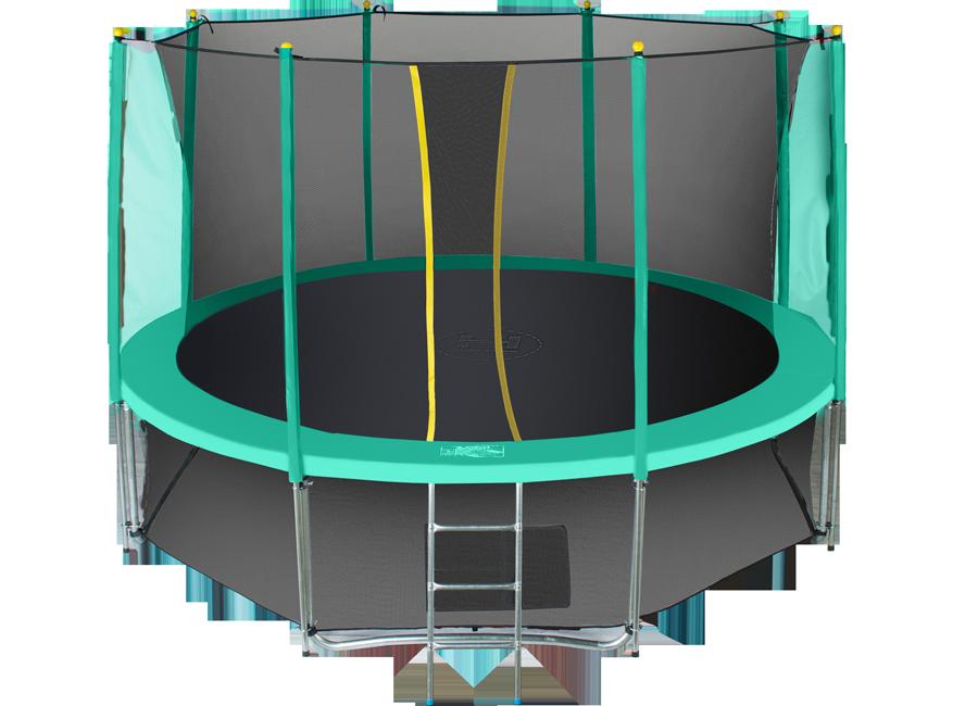 Батут Hasttings Classic Green 15ft (4,6 м) с защитной сетью и лестницей