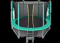 Батут Hasttings Classic Green 12ft (3,66 м) с защитной сетью и лестницей, фото 1