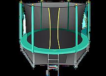 Батут Hasttings Classic Green 12ft (3,66 м) с защитной сетью и лестницей