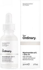 Сыворотка The Ordinary Niacinamide 10%+Zinc 1%