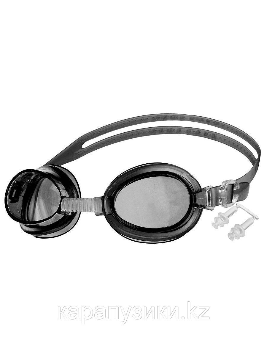 Очки для плавания черные