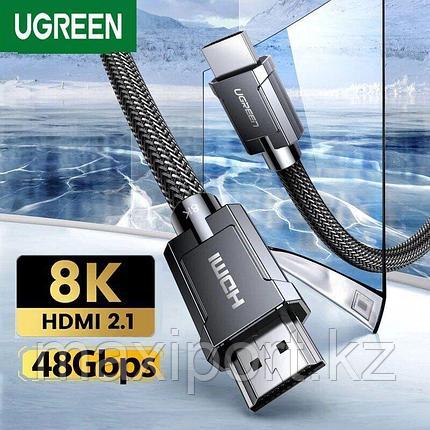 Hdmi 3 метра V2.1 Ugreen (совместим с 2.0) 8k 60hz, фото 2