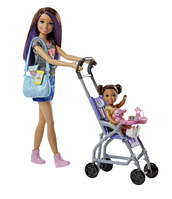 Набор Барби с коляской