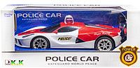 Машина на радиоуправлении Ferrari Полиция (красно-белая)