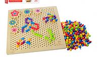 Деревянная игрушка мозаика