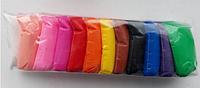 Воздушный пластилин из 12 цветов