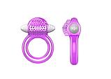 Эрекционное кольцо с вибропулей, прозрачное, фото 2