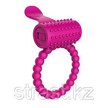 Эрекционное кольцо с вибрацией Fantasy C-Ringz Vibrating Silicone Super Ring