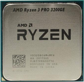 Процессор AMD Ryzen 3 PRO 3200GE 3,3ГГц (3,8ГГц Turbo), фото 2