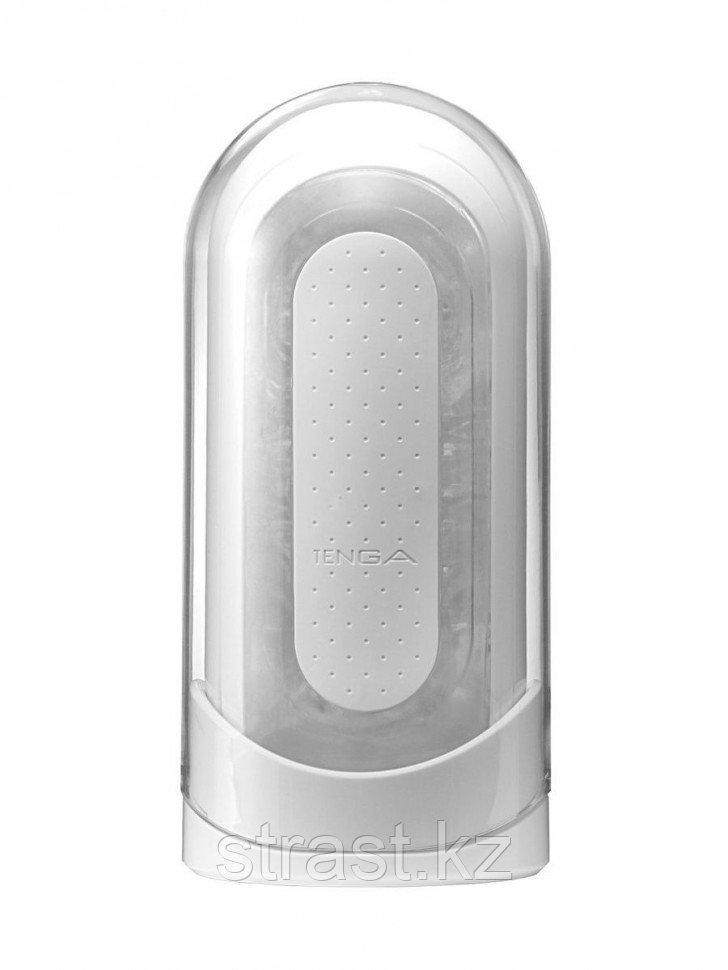 TENGA Мастурбатор Flip Zero с вибрацией белый