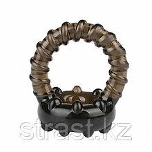 Эрекционное кольцо с креплением для мошонки