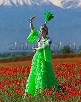 Стильные казахские костюмы женские прокат.