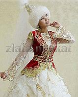 Казахские платья, камзолы, жилеты прокат.