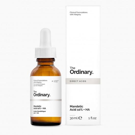 Сыворотка с миндальной и гиалуроновой кислотой The Ordinary Mandelic Acid 10% +HA
