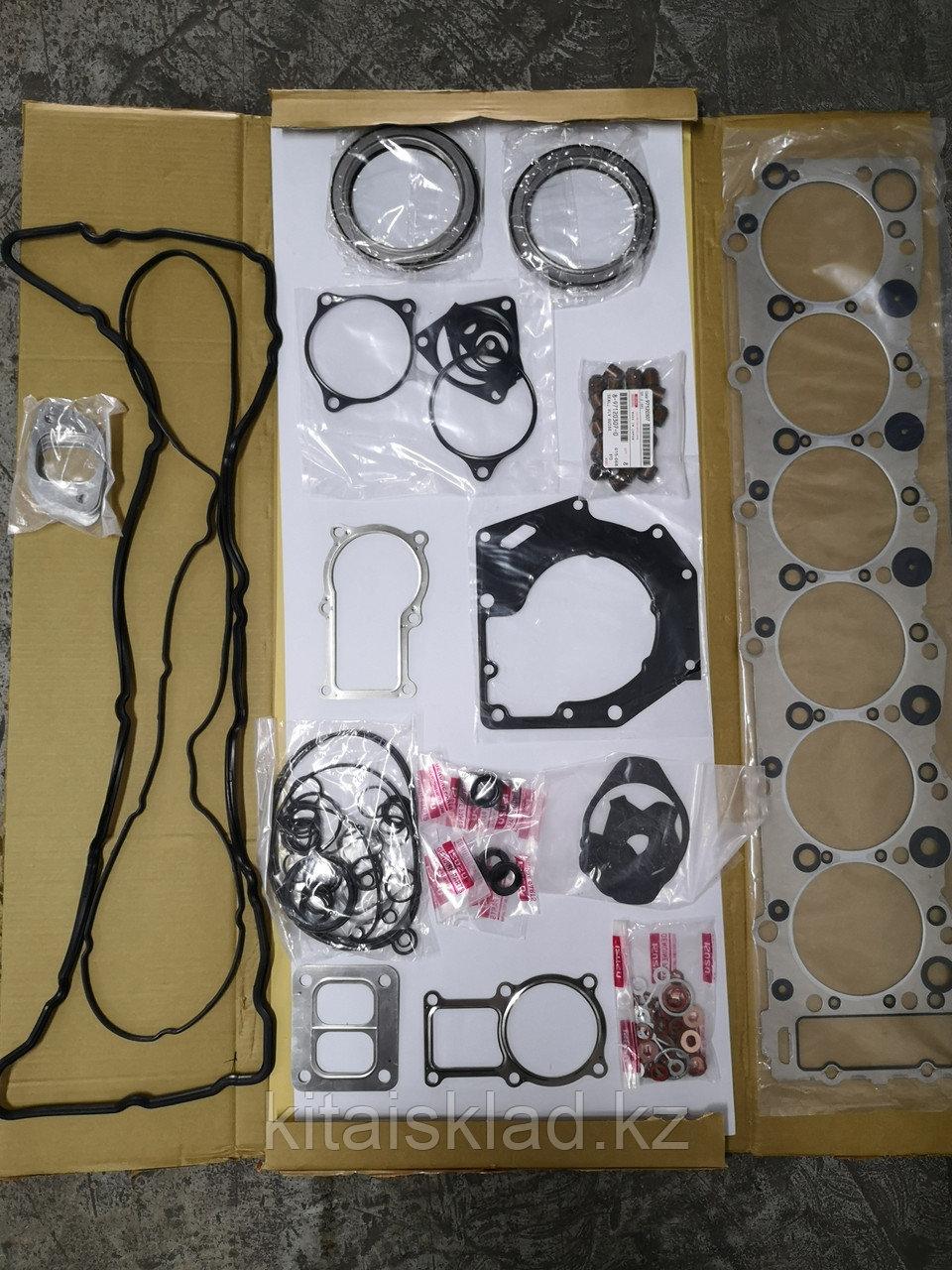 Ремкомплект прокладок двигателя Isuzu 6HK1-XQP (электронный впрыск), 1-87813293-0